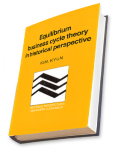 Equilibrium Business Cycle Theory in Historical Perspective (Kyun)