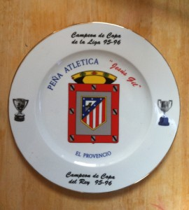 atletico madrid plato campeones
